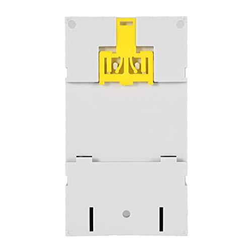 Control de rango de tiempo Interruptor de control de tiempo Interruptor de tiempo digital para control de farola(AC110V, Black)