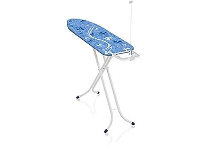 Leifheit Tabla de planchar plegable Air Board Compact M para planchas de vapor, mesa de planchar ultraligera, tabla de planchado en menos tiempo