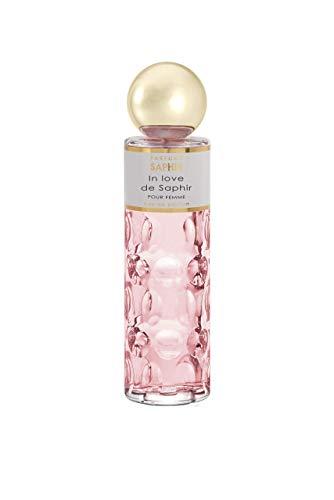 PARFUMS SAPHIR in Love - Eau de Parfum con vaporizador para Mujer - 200 ml