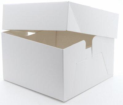 Pack-it 2 x Blanc Gâteau boîtes 30,5 x 30,5 x 15,2 cm de Mariage/Anniversaire