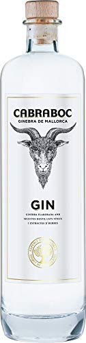 Cabraboc Gin 0,7L - Mallorca Spanien - 40% vol - ideal für Gin Tonic und andere Gin Cocktails