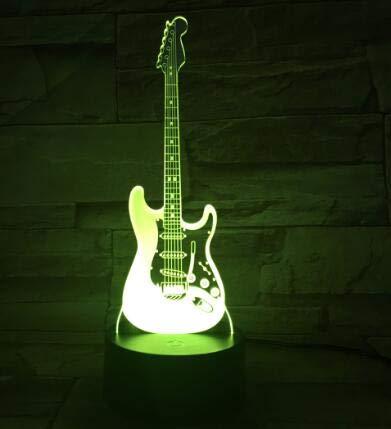 Lámpara de mesa 3D Billie Eilish Johnny Hallyday Freddie Mercury rapero cantante de música Rock amigo niños regalo lámpara de mesa decoración