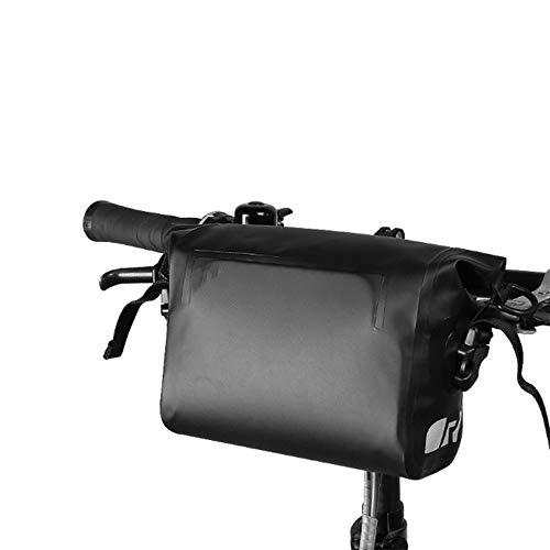 ZFW Opvouwbare autotas, fietsvoorkant, waterdichte pvc-schouderriem, fietstas, moderne eenvoud, mode