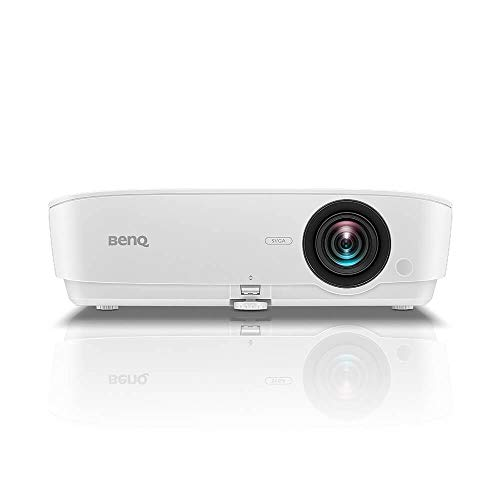BenQ MS535P SVGA Business and Classroom Projector | DLP | 3600 Lumens Brightness | Upto 15,000 Lamp Life | Dual HDMI | in-Built Speaker | Keystone Correction | Simple Setup | SmartEco Technology