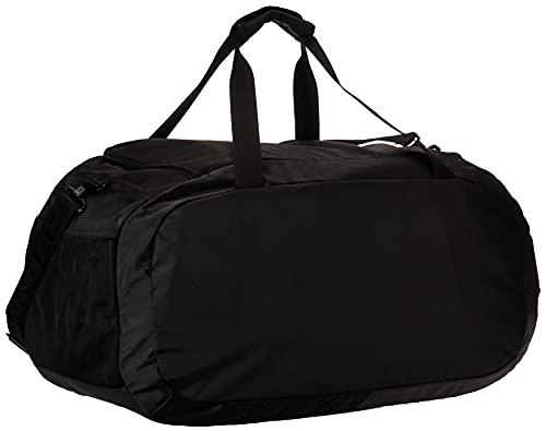 Under Armour Undeniable Duffle 4.0 bolsa de deportes, bolsa de entrenamiento unisex, Negro (Black/Black/Silver (001)), M