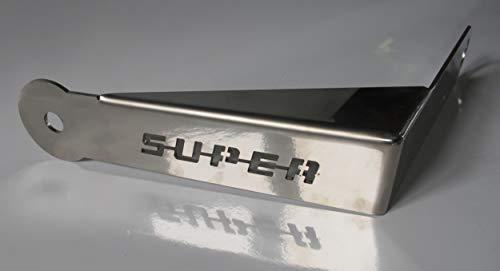 TRUCKDANET Accesorio de acero inoxidable para camión Scania Serie Streamline Soporte de antena CB