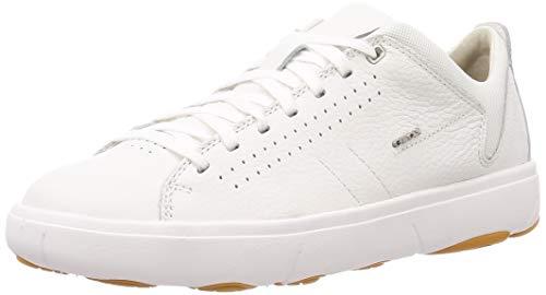 Geox Herren U Nebula Y A Sneaker, Weiß (White), 43 EU