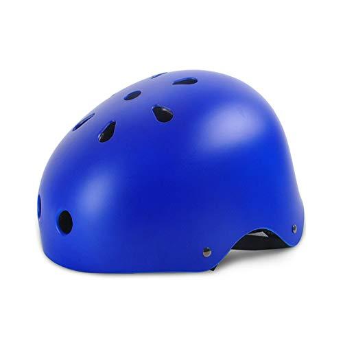 Hyl Casco Bicicleta Casco para Bicicleta Casco de Bicicleta Utilizado para Proteger la Cabeza Tamaño Ajustable Apto para niños y Adultos. Adecuado para Andar en monopatín y Escalar Rocas
