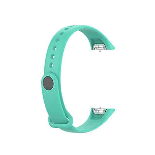Sallydream Correa para Samsung Galaxy fit SM-R370 Watch Band Banda Strap Deportiva Cómoda Soft Ligera Silicona Wristband