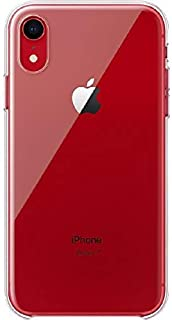 Apple Clear, Back Cover Mobile Case, for iPhone XR, Clear