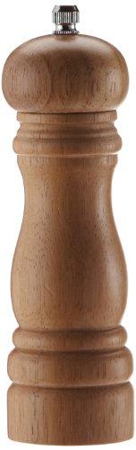 pequeño y compacto Kesper 13660 – Molinillo de pimienta, madera clara (16,5 cm, diámetro: 5 cm)