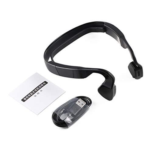 Heaviesk Drahtlose Knochenleitung Kopfhörer 4,0 Headset Kopfhörer Stereo Musik Mikrofon Hörgeräte Ohr Release Für Handy