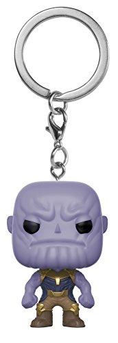 Funko 27301-PDQ POP! Schlüsselanhänger Figur: Marvel: Avengers Infinity War: Thanos
