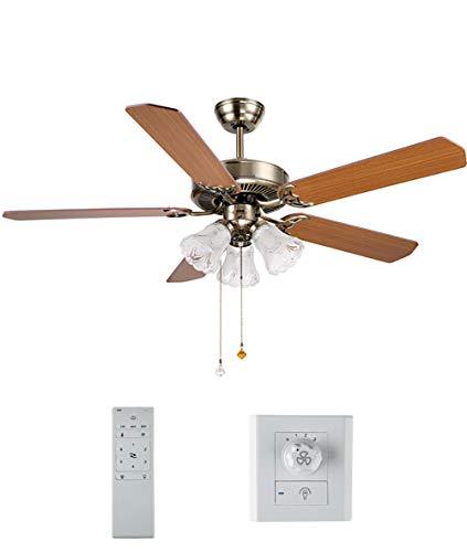 Candelabro moderno para ventilador de techo lámpara colgante Ventiladores de techo de...