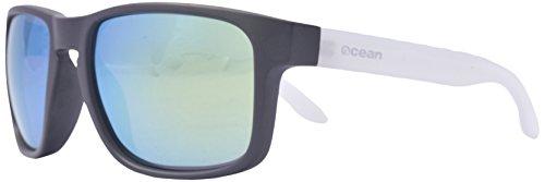 Ocean Sunglasses - Blue Moon - lunettes de soleil polarisées - Monture : Chocolat/Blanc - Verres : Revo Jaune (19202.28)