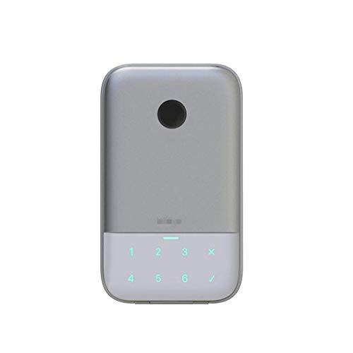 Key BoxWireless Network Fingerprint Password Key Box Caja de seguridad APP Control remoto Aleación de aluminio Key Lock Box Resistente a la intemperie Apto para uso doméstico