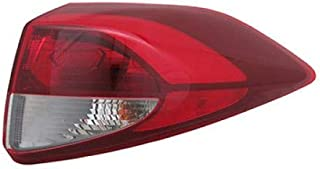 Go-Parts - OE Replacement for 2016 - 2018 Hyundai Tucson Tail Light Rear Lamp Assembly Replacement - Right (Passenger) HY2805137N Replacement For Hyundai Tucson