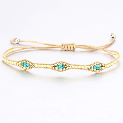 XBSZK armband Kleurrijke Zaad Kralen Lederen Bedel Armbanden Voor Vrouwen Mannen Mode Meerdere Lagen Wikkel Armband Sieraden Gift Zomer Sieraden