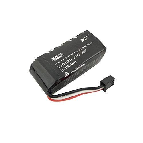 Hubsan X4 Racing Drone H122D H122D Pro Rechargeable Li-Po Battery 7.6V 710mAh Replacement Battery for Hubsan H122D (H122D-16)
