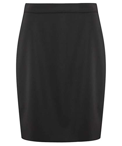 HUGO Damen Rock The Pencil Skirt Schwarz 36