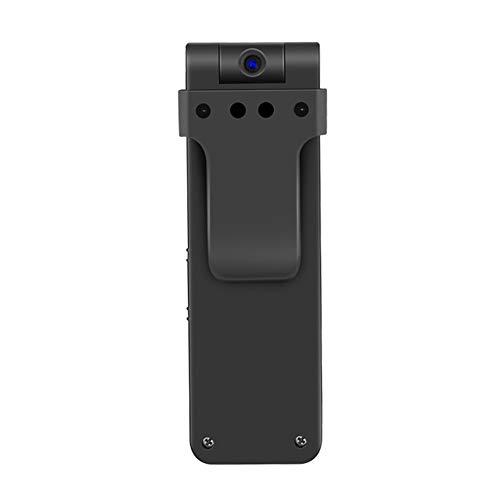 Mini Grabadora Oculta 1080P HD CAM 270 Grados Rotación con Portátil Cuerpo-Gastado Clip Cámara Espía con Un Botón De Registro Rápido (Dos Modos), 64 GB De Tarjeta De Memoria
