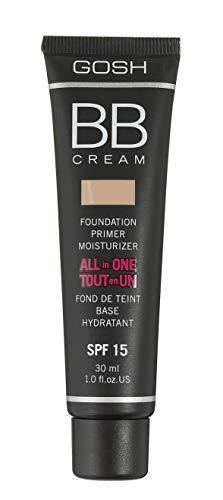 GOSH BB cream foundation, primer, moisturiser (02 beige) by Gosh