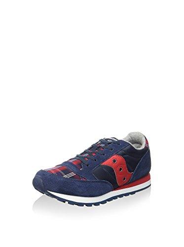 Saucony Originals SY55553, Chaussures garçon - Bleu - Bleu Marine/Rouge, EU 37.5 (US 5.5) EU