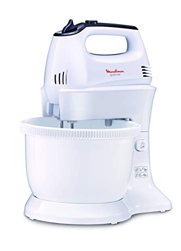 MOULINEX Hand Mixer With PLASTIC Bowl 3.5Litre