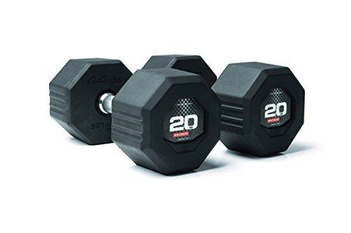 ESCAPE Octagon Dumbbell - Mancuernas de cross profesionales (22,5 kg) 🔥