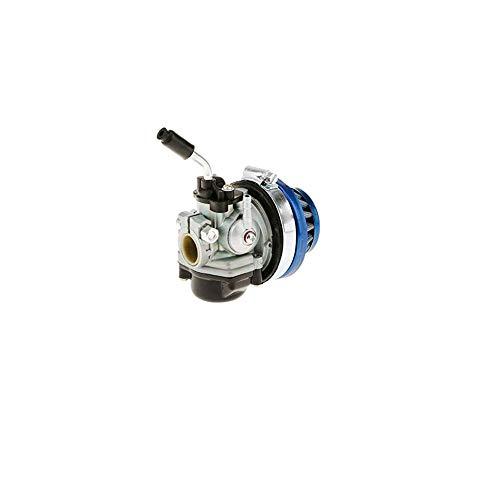 Carburador con el Rendimiento del Filtro de Aire del Motor de carburador Asamblea el 37/50 / 80cc Pocket Bike Azul