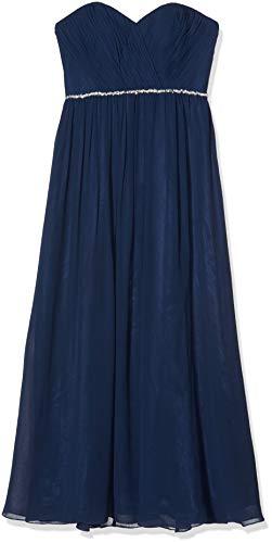 Laona Damen Kleid LA81718L, Blau(Stormy Blue), 40 (Herstellergröße: L)