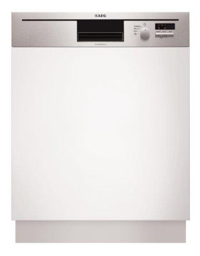 AEG F50012IM0 - laves-vaisselles (Semi intégré, Blanc, Froid/chaud, 49 dB, A, 60 °C)
