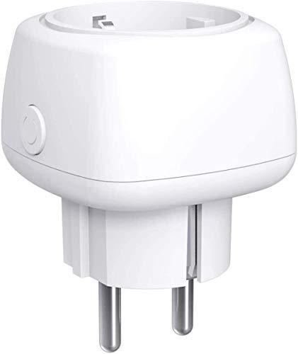 WLAN Smart Steckdose, Meross Smart Mini Steckdose Intelligente WiFi Plug, Kompatibel mit Alexa, Google Home, und SmartThings 10A Stecker mit App Fernsteuerung, Kein Hub erforderlich