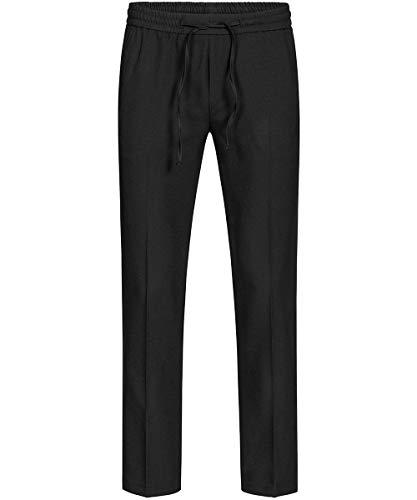 GREIFF Herren Joggpant Service Kostüme & Anzüge 8362 Regular Fit, Farbe: Schwarz, Größe: 48