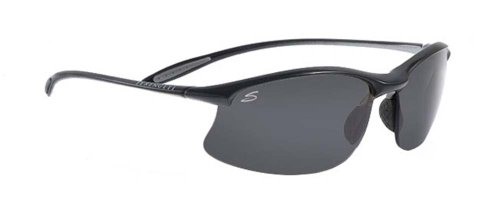 SERENGETI Maestrale 7355 Gafas de sol Unisex Satén negro