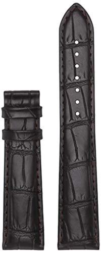 Tissot Leather Calfskin Brown Watch XL Strap, 21mm Width (Model: T610035387)