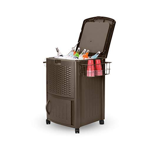 wicker patio cooler - 4