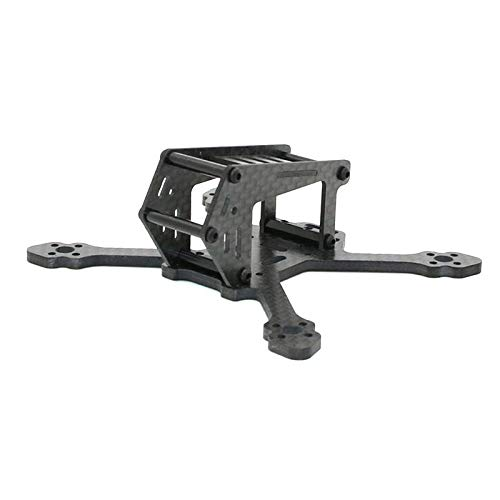 LYYCEU SPC Faker 100SP 100mm FPV Racing RC Kit de Marco de diámetro de Carbono Fibra de Carbono 3MM ARMPO DE ARMO RUNCAM Micro Swift CAM Utilidad