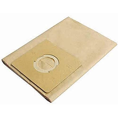 Stanley 13-1520 se adapta a bolsas de filtro desechables de acero inoxidable para aspiradora húmeda o seca, paquete de 3