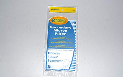 Hoover Power-max, Spectrum, Wind-Tunnel & Shoulder Vac Filters 2 Pk Part # 241