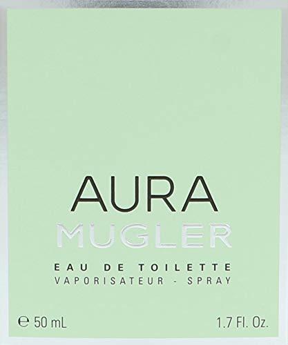 Aura Mugler, Agua de tocador para mujeres - 50 ml.