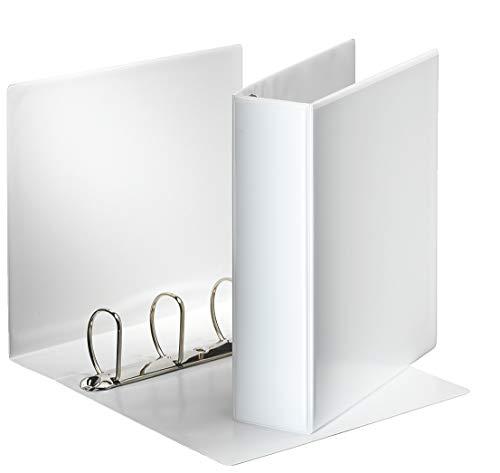 Esselte Präsentationsringbuch (DIN A4, 4 Ringe, 60 mm) weiß