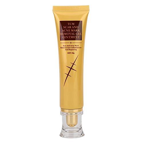 Gel de eliminación de cicatrices de marcas de acné, crema de reparación...