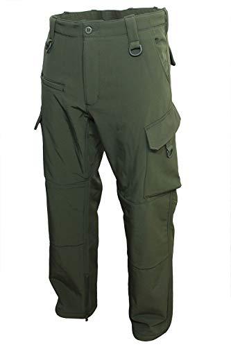 Mil-Tec Hommes Soft Shell Pantalons \