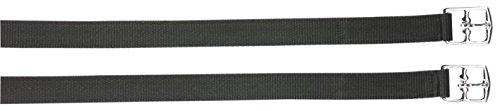 BUSSE Steigbügelriemen STATUS, Standard, 125 cm, schwarz