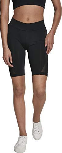 Urban Classics Damen Tech Mesh Cycle Shorts, Schwarz (Black 00007), S
