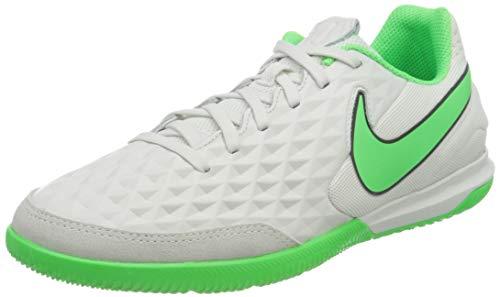 Nike Legend 8 Academy IC, Scarpe da Calcio Unisex-Adulto, Platinum Tint/Rage Green-Black, 44 EU
