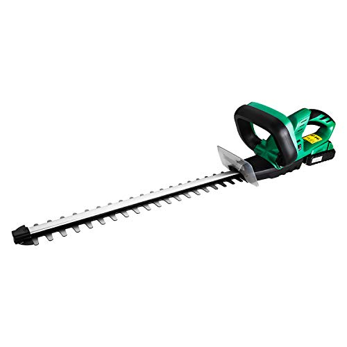 DEKO Cordless Hedge Trimmer 20V Lithium 2000mAh Quick Charge Rechargeable Electric Trimmer Pruning Saw with Dual Blade Saw