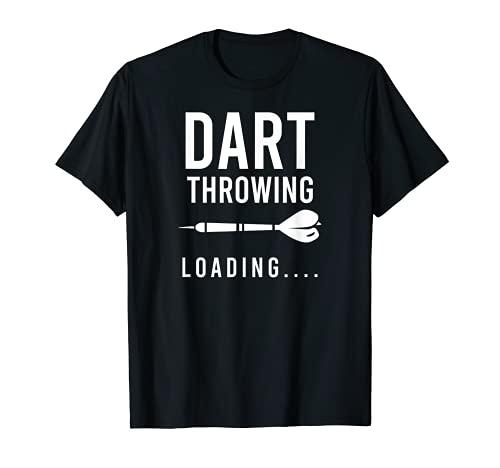 Dart Throwing Loading Design Funny Dart T-Shirt