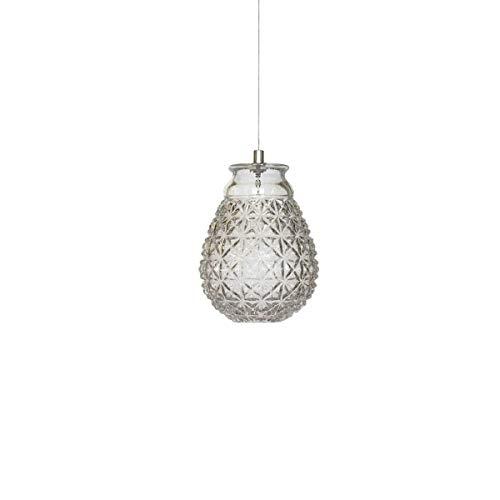 Karman Ceraunavolta lampada a sospensione forma G in vetro trasparente